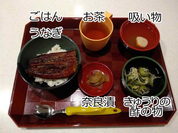 清瀬療護園2020年6月某日(撮影日)夕食のメニュー