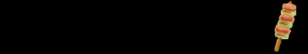 ねぎま(焼き鳥)のイラスト